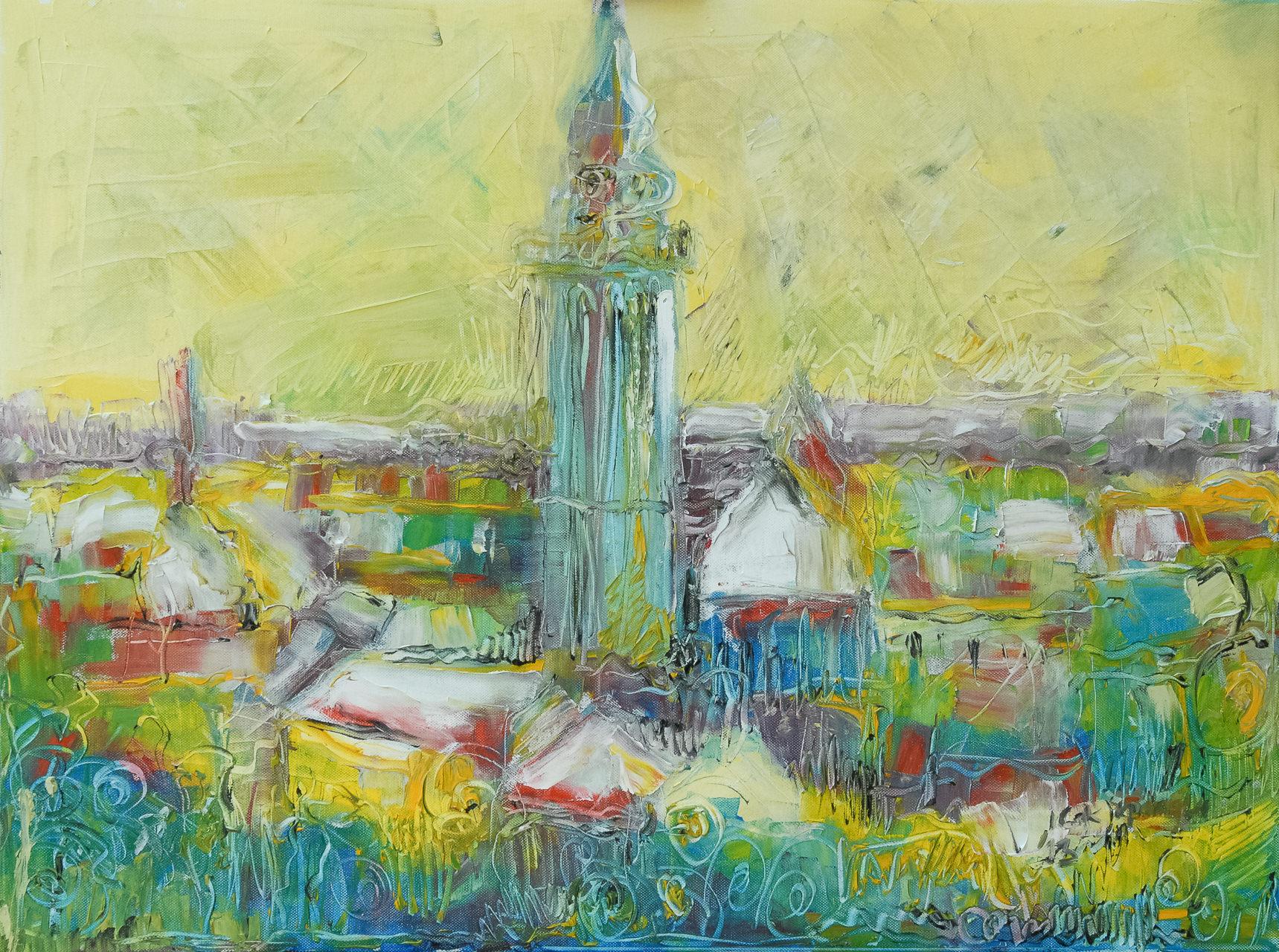 Subotica Secesija – Irena Cakipaloglu Ulje na platnu 60x80