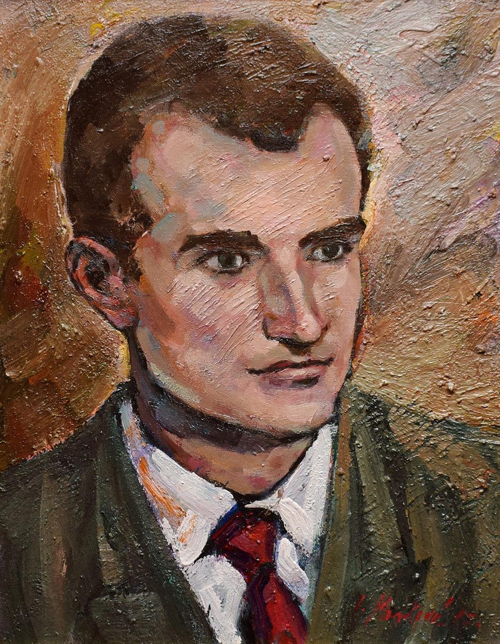 Portret Stipana Šabića – Ivica Mareković Ulje na platnu 53x40