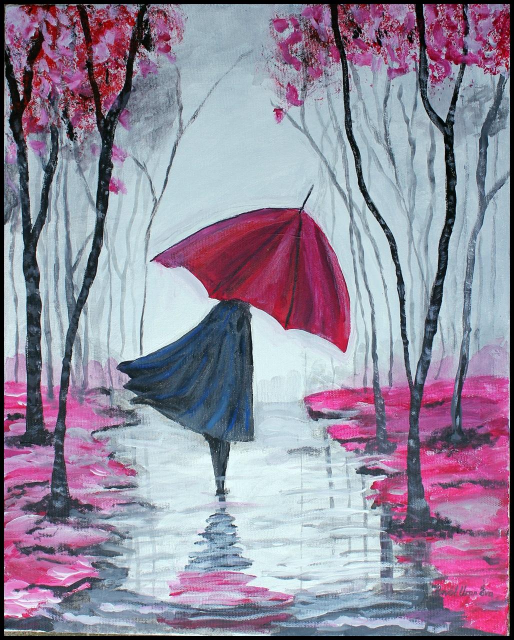 Devojka sa kišobranom – Eva Horvat Uzon